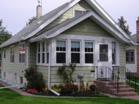 Exterior Painted Home Restored