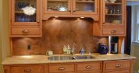 Kitchen Backsplash Faux Painting