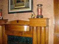 Restored Wood Fireplace
